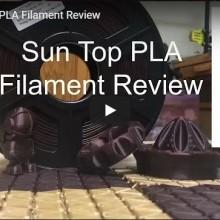 PLA Filament Review(Video)