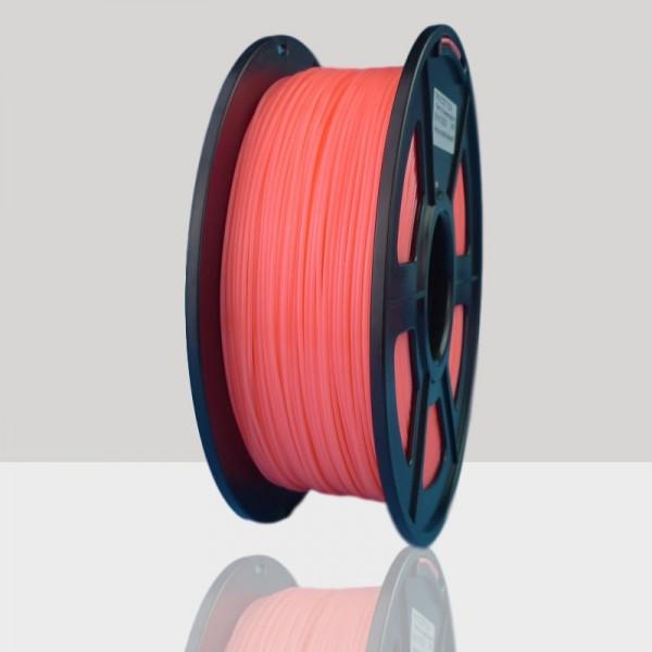 1.75mm PLA Filament Fluorescent Orange for 3D Printers, Rohs Compliance,1kg Spool, Dimensional Accuracy +/- 0.03 mm