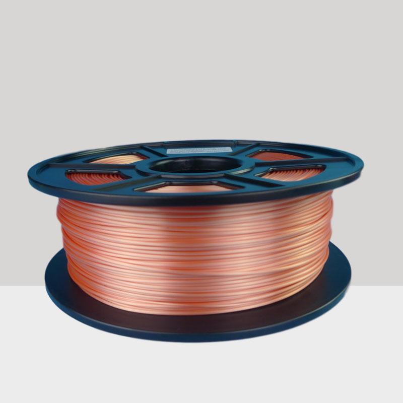 Printing Materials Silky Silk Silver Pla 1.75mm 3d Printer Filament 1kg 2.2lbs